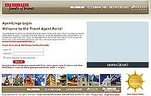 Cosmos Travel Agents Website
