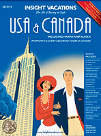 !!! INSIGHT VACATIONS RELEASES 2013 USA & CANADA BROCHURE
