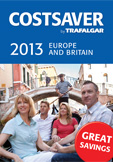 !!! TRAFALGAR LAUNCHES 2013 COSTSAVER BROCHURE 