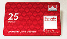 !!! BARCELO OFFERS AGENTS PETRO CANADA GAS CARDS
