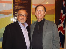 Mahmood Poonja and Paul Saltzman