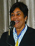Lizanne Dindial, president and CEO, Curaçao Hospitality and Tourism Association