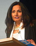 Almas Jiwani president and CEO, United Nations Women Canada National Committee and president, Frontier Canada