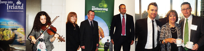 !!!TOURISM IRELAND OFFICIALLY LAUNCHES THE GATHERING 2013 IN CANADA