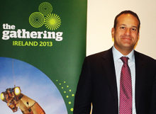 Leo Varadkar, minister for tourism, transport and sport