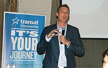 Dan Prior, sales director, Transat Discoveries