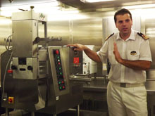 Massimo&nbsp;Lazzari, F&amp;B manager, MSC Splendida
