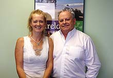 Of Royal Irish Tours: Tanya Johnson, sales manager & Ian Duffy, president
