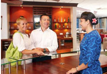 !!!ISLANDSESCAPES BY GOWAY LAUNCHES FIJI AIRPORT LOUNGE