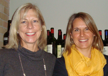 Kirsten Schmidt, public relations, visitBerlin and Astrid Pockfuss, media relations, Vienna Tourist Board