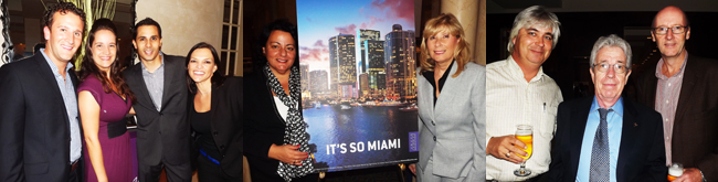 !!!MIAMI HOSTS APPRECIATION DINNER FOR TRAVEL INDUSTRY