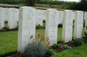 Cabaret Rouge Military Cemetery