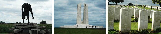The Canadian War Memorial Experience In France