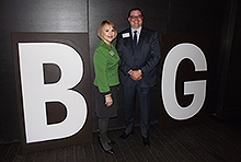 Of Dallas CVB: Priscilla L. Hagstrom, vice president, communications & Dave Krupinski, vice president, tourism
