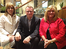 Carolina Bellina, Richard Kirby & Susan Webb