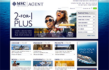 !!! MSC Cruises Upgrades Their Travel Agent Website