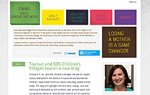 !!! Transat & SOS Children's Villages Launch New Blog