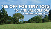 !!! Registration open for Tee Off For Tiny Tots golf event