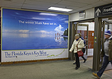 !!! Florida Keys Send Warm Messages To Toronto Commuters